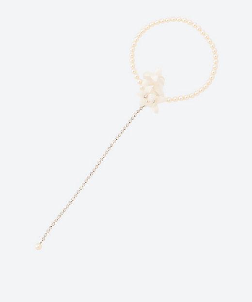 <confetti(Women)/コンフェッティ> 4弁花+ロングアジャスター付きネックレス【三越伊勢丹/公式】