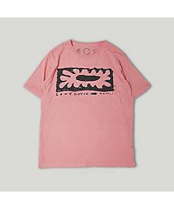 コムアイ/コムアイ コムアイ Tシャツ(ピンク)/サステナブル・ファッション・サークル