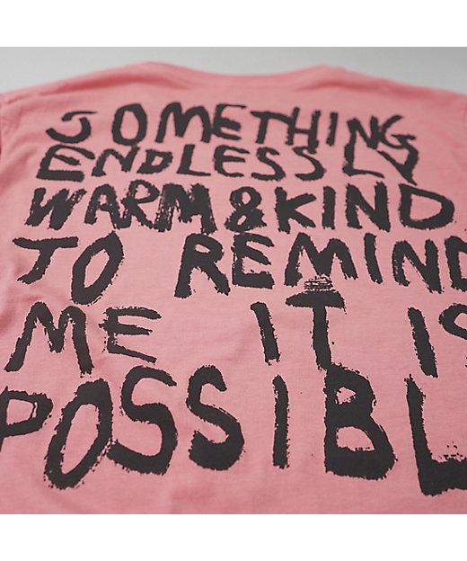コムアイ Tシャツ(ピンク)/サステナブル・ファッション・サークル
