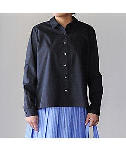 coromo-cya-ya/コロモチャヤ <Houttuynia cordata>ボックス型レギュラーカラーシャツ