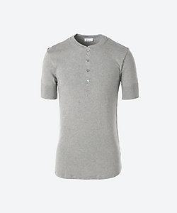 Schiesser (Men)/シーサー ヘンリーネック半袖 Tシャツ