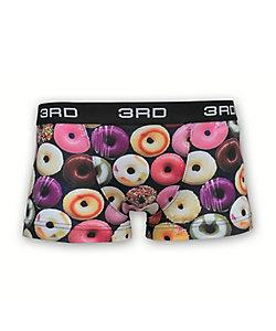 3RD WARE(Men)/サードウェア ボクサーパンツ/前閉じ/doughnuts mix blue
