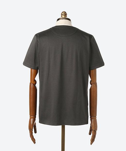 ドレスTシャツ 半袖クルーネック