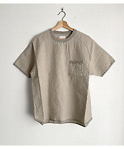 Re made in tokyo japan (Men)/アールイーメイドイントーキョージャパン フレンチリネンTシャツ
