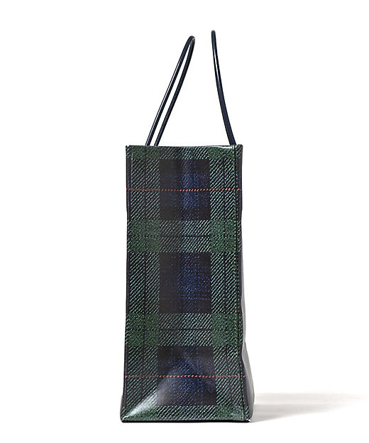 Leather Paper Bag(ブラックウォッチ)