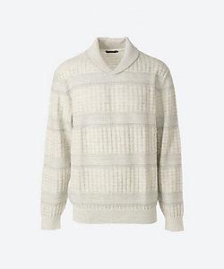 ARAMIS(Men)/アラミス 【紳士大きいサイズ】ショールカラーセーター