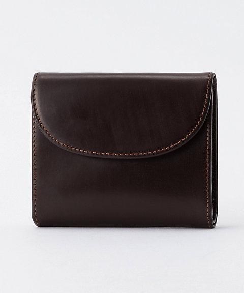 ミニ三つ折り財布(S1058) ハバナ(ブラウン)