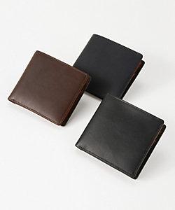 Whitehouse Cox/ホワイトハウスコックス 二つ折り財布(小銭入れ付)(S7532DC)