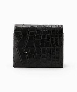 TMBH(Men)/ティーエムビーエイチ クロコダイル 2つ折り財布(HNcroco/futa)