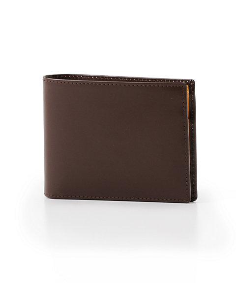 小銭入れ付二つ折り財布(BH141) ナット(ブラウン)