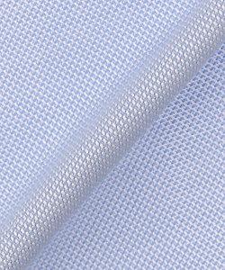 【受注生産】ドレスシャツ(ブルー系・織柄)