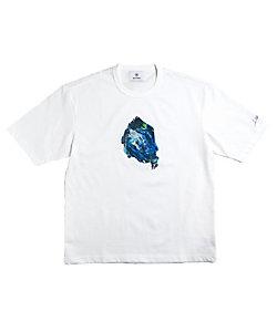 画家 杉田陽平×RIVORA (Men)/スギタヨウヘイ×リヴォラ <ブルーのドレス>カットソー RAYS-R001