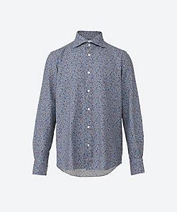 Finamore(Men)/フィナモレ 小紋柄カジュアルシャツ