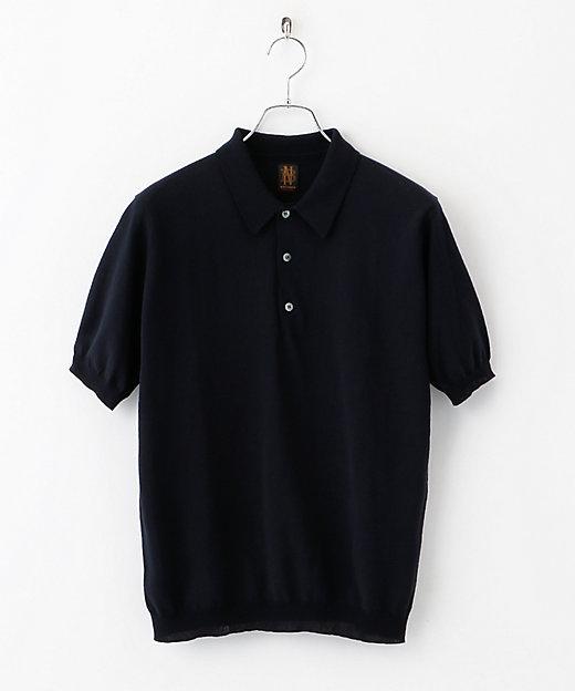 別注ニットポロシャツ