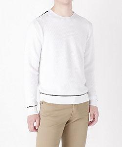 ALFRED(Men)/アルフレッド ジオメト編みセーター