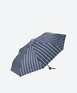 RAMUDA(Men)/ラムダ 晴雨兼用傘アンカーストライプ(折りたたみ)
