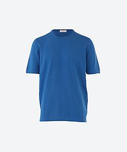 GRAN SASSO(Men)/グランサッソ ソフトコットン ニットTシャツ
