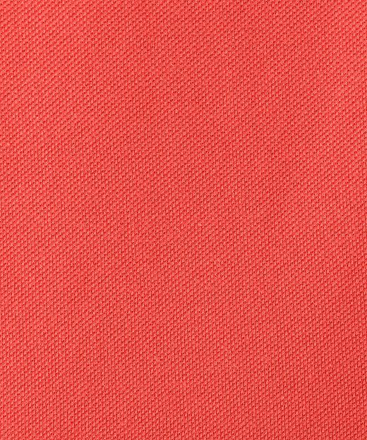 製品染めカノコ半袖ポロシャツ