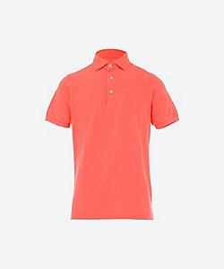 GRAN SASSO(Men)/グランサッソ 製品染めカノコ半袖ポロシャツ