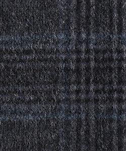 HICKEY FREEMAN/ヒッキー・フリーマン パターンオーダージャケット 国産生地使用 ネイビーグレンチェック マシンメイドライン