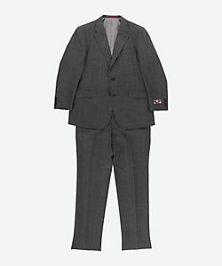 TIMOTHY EVEREST LONDON(Men)/ティモシーエベレスト ロンドン 【大きいサイズ】英国バルマー&ラム社製生地使用 グレーパターンチェック柄 スーツ