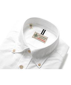 Luigi Borrelli(Men)/ルイジ ボレッリ 製品洗いコットンオックスフォードボタンダウンカラーシャツ「STEFANO-PF(30139)」