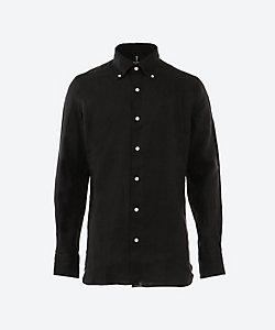 Luigi Borrelli (Men)/ルイジ ボレッリ アイリッシュリネン100% ボタンダウンカジュアルシャツ 「STEFANO-EX」(S31045)