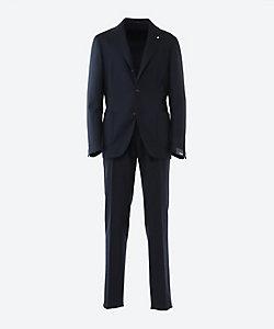 LARDINI(Men)/ラルディーニ シングル 3ボタン 1プリーツ スーツ