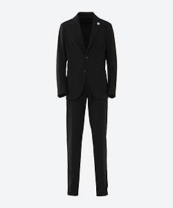 LARDINI(Men)/ラルディーニ パッカブル 無地 シングル 3ボタン スーツ