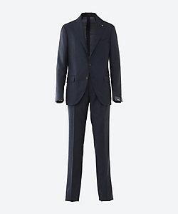 LARDINI(Men)/ラルディーニ 【50%OFF】無地 シングル 3ボタン 1プリーツ スーツ