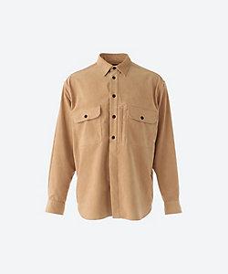 COLONY CLOTHING(Men)/コロニークロージング アルカンターラ シャツ