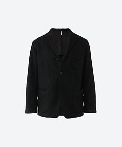 m's Braque(Men)/エムズブラック フランネル シングル 4ボタン コンフォート ジャケット