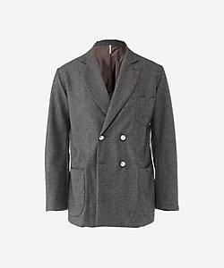 m's Braque(Men)/エムズブラック アムンゼン ダブル 4ボタン ジャケット