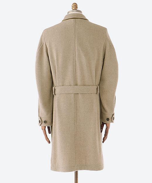 シングル ベルテッド コート