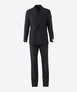 CARUSO(Men)/カルーゾ ダブル 4ボタン 1プリーツ スーツ