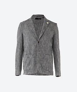 LARDINI(Men)/ラルディーニ ヘリンボーン シャツジャケット