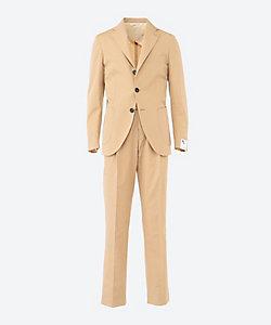 DOPPIAA(Men)/ドッピアアー 3ボタン 1プリーツ ポプリン スーツ