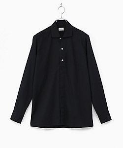 BAGUTTA(Men)/バグッタ 無地 比翼ボタン シャツ