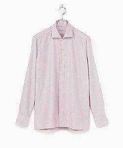BAGUTTA(Men)/バグッタ ドビー ワイドカラー シャツ