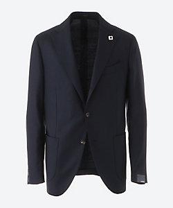 LARDINI(Men)/ラルディーニ ホップサック シングル3ボタン ジャケット
