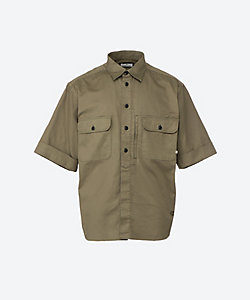 COLONY CLOTHING(Men)/コロニークロージング ショートスリーブ コットンツイル シャツ