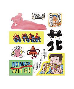 鬼塚ネオ(NEONiO) (Men)/オニツカネオ(ネオニオ) ステッカー