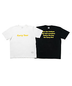 TANGTANG/タンタン Tシャツ T1301・1302 ISETAN Curry Tour LOGO