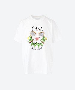 CASABLANCA(Men)/カサブランカ Tシャツ 21SS 21 MS21 TS 001