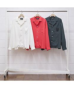UNUSED (Men)/アンユーズド レーヨンシャツ Shirt US2011