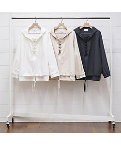 UNUSED (Men)/アンユーズド アノラック Lace up pullover jacket US1930/ご予約品 3月中旬以降順次お届け予定