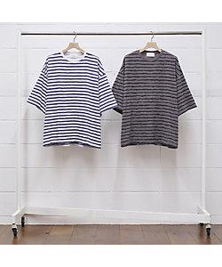 UNUSED (Men)/アンユーズド ボーダーカットソー Short sleeve border t-shirt US2021/ご予約品 4月中旬以降順次お届け予定