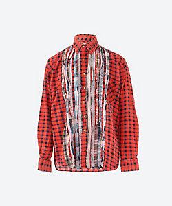 NEEDLES/ニードルズ <Rebuild by Needles>フランネルシャツ Flannel Shirt Ribbon Shirt IN244