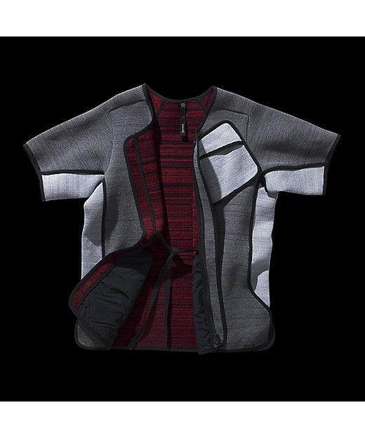 ジップアップTシャツ(9W-11-EX-320-004)