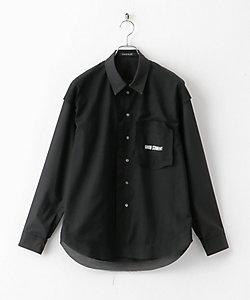 ALMOSTBLACK(Men)/オールモストブラック シャツ 9S-10-SH01